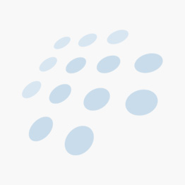 Pillivuyt Brasserie tallerken flat hvit/sort - 17 cm