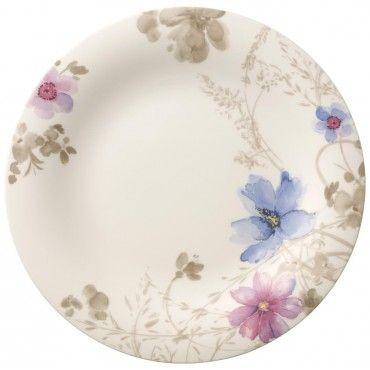 Villeroy & Boch Mariefleur Gris Basic Round gourmet plate 30cm