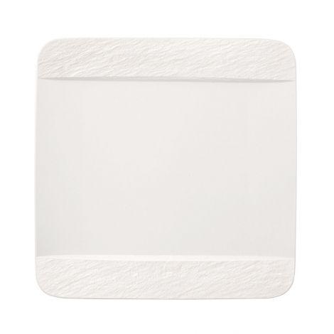Villeroy & Boch Manufacture Rock Blanc Middagstallerken 28x28 cm
