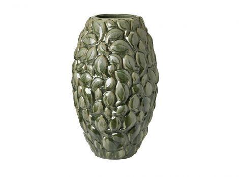 Knabstrup  Leaf, vase, limited utgave, khaki vert, 40 cm