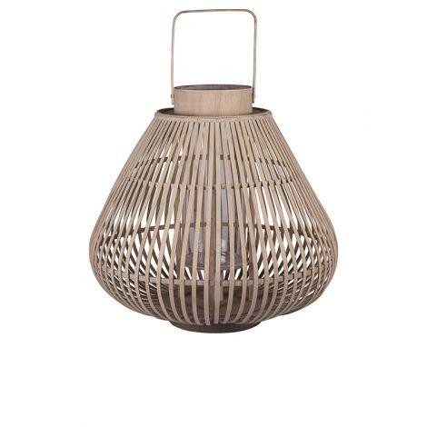 """Broste Copenhagen Lanterne """"Sahara"""" Bambus Stor"""