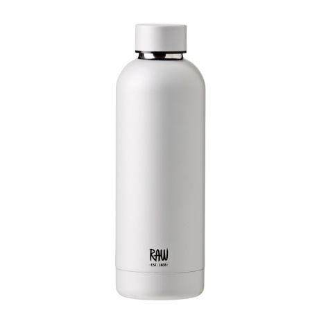 Aida RAW Termoflaske i Stål Sølv 0,5L