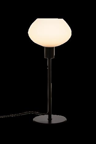 Aneta Lighting Bell Bordlampe Høy Sort Hvit
