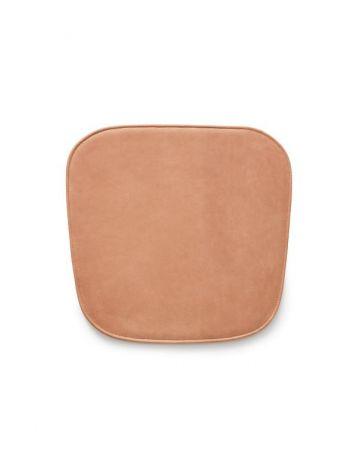 Skagerak Vester stol kudde läder konjak