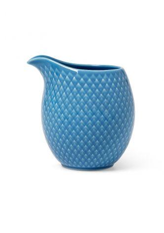 Lyngby Porselen Rhombe Color Melkekanne 39 cl blå