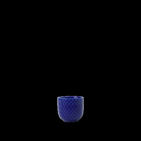 Lyngby Rhombe Color Äggkopp Mørk Blå Ø5 cm. Levering i juli