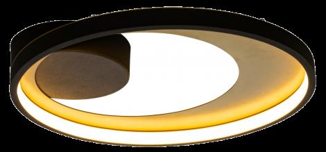 Aneta Lighting Carat Plafond Sort Gull LED