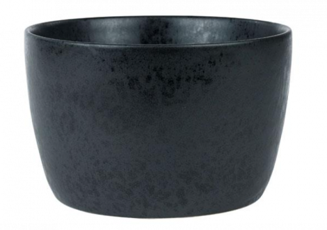 Bitz Skål Ø20x12,5 cm Sort Stentøy