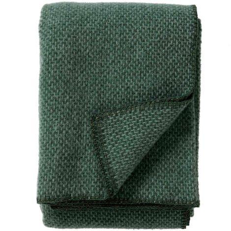 Klippan Pledd Domino Grønn 130x180cm