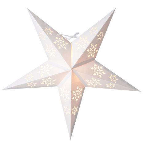 EA belysning Halka Papirstjerne 52 cm Hvit