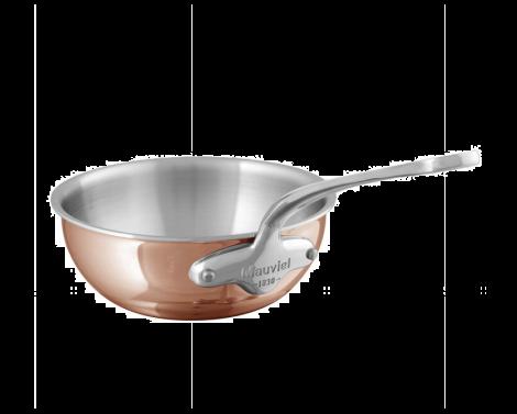 Mauviel M'6s sautépanne buttet kobber/stål 2L
