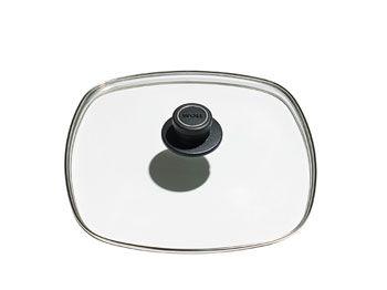 Woll Glasslokk m/ Ventil til 28x28 cm