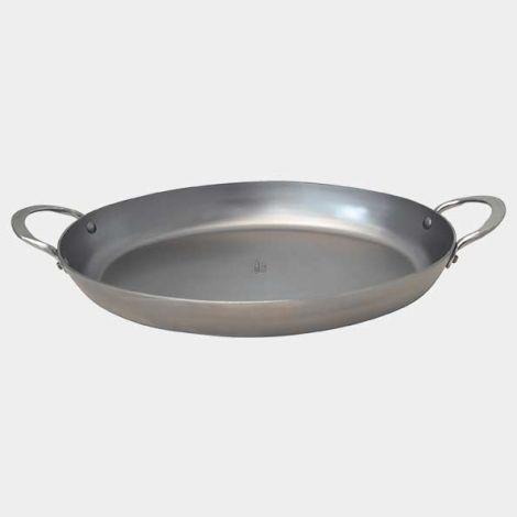 De Buyer Mineral B Element oval roasting pan 36 cm