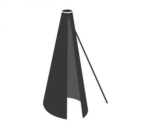 Cane-line överdrag nr.9 - Passer til Hyde + Major parasoll 3x3m. Kommer 08/21