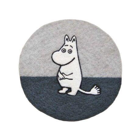 Klippan Mumin Grytunderlägg grå