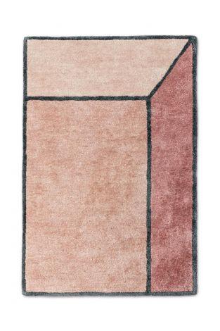 Rug Solid Teppe Illusion Terracotta 140x200cm