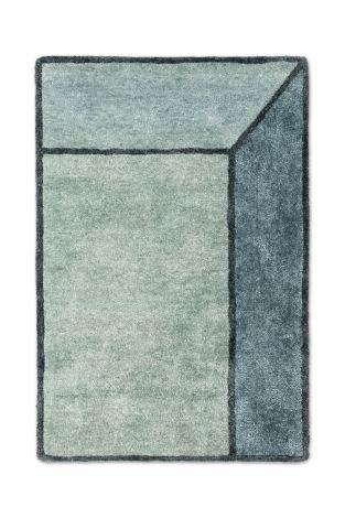 Rug Solid Teppe Illusion Jade 140x200cm