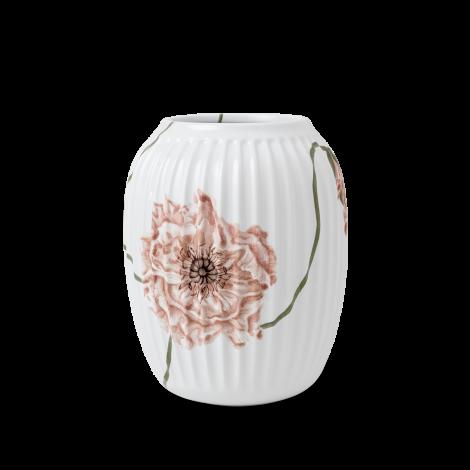 Kähler Poppy Vas Hvit H21 cm