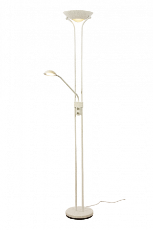 Aneta Lighting Nice Gulvlampe Hvit LED