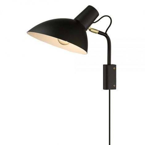Halo Design Metropole Vegglampe Sort