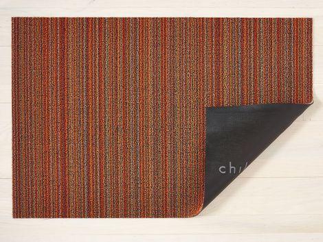 Chilewich Dørmatte Skinny Stripe Orange Stor