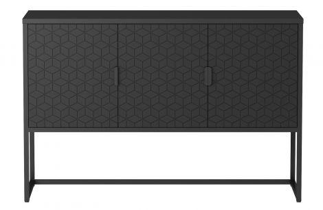 WOOOD Milo TV-Benk 3-dørs 79x120x40 cm