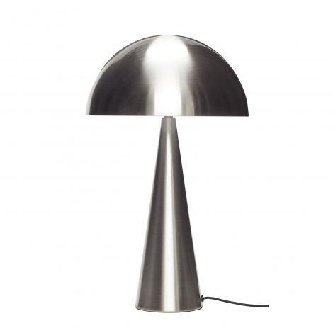 Hübsch bordslampa metall / nickel 51 cm