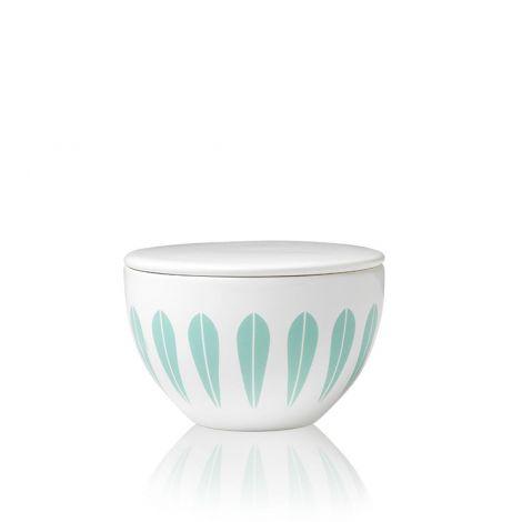 Lucie Kaas Lotus Mint Green Sugar Bowl 10 cm