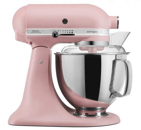 KitchenAid Artisan Köksmaskin Dusty Pink - 4,8 + 3 liter. Leverans oktober -21.