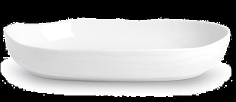 Pillivuyt Boulogne Fat Rektangulært Hvit - 36 cm
