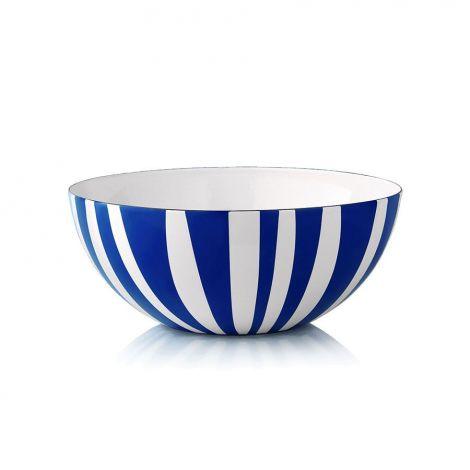 Cathrineholm Stripe Blå 24 cm