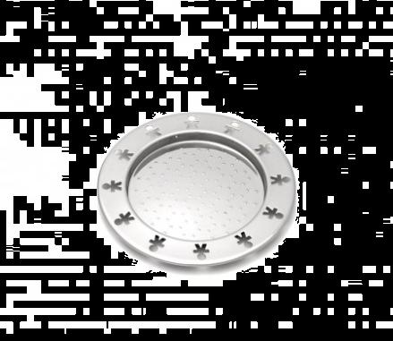 Alessi Mini Girotondo Coaster Glass 4 stk