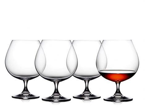 Lyngby Glass Cognacglas 69cl 4 st.
