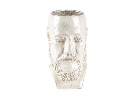 Villa Collection Vase/Blomsterpotte Hvit H26 cm