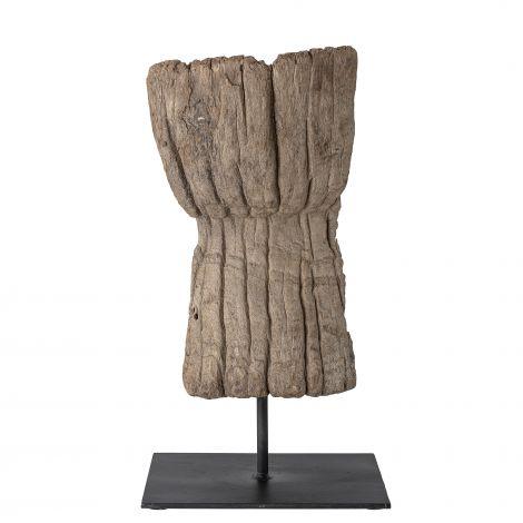 Bloomingville skulptur återvunnet trä