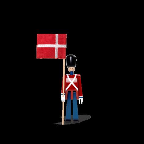 Kay Bojesen Flaggbärare med mini-textilflagga