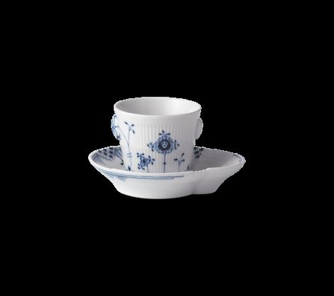 Royal Copenhagen Blue Elements Espressokopp med Tallerken 9cl