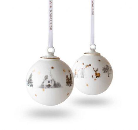 Wik & Walsøe Julemorgen julekule stor