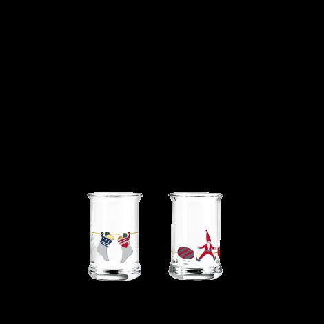 Holmegaard Christmas Juledrammeglass 2020 Multi 3 cl 2 stk