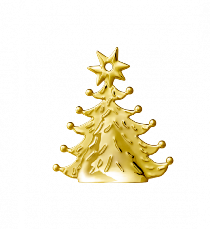 Rosendahl Karen Blixen julgran Förgylld 8 cm
