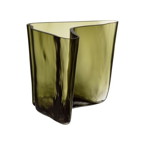 Iittala Aalto vase 175x140mm Mosegrønn