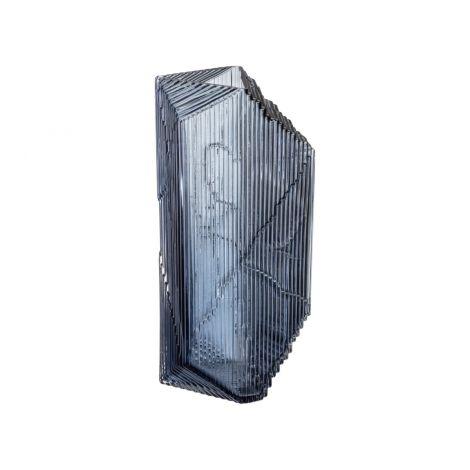 Iittala Kartta glasskulptur 150x330mm rain