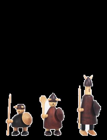 Andersen Viking Figurer 3 stk