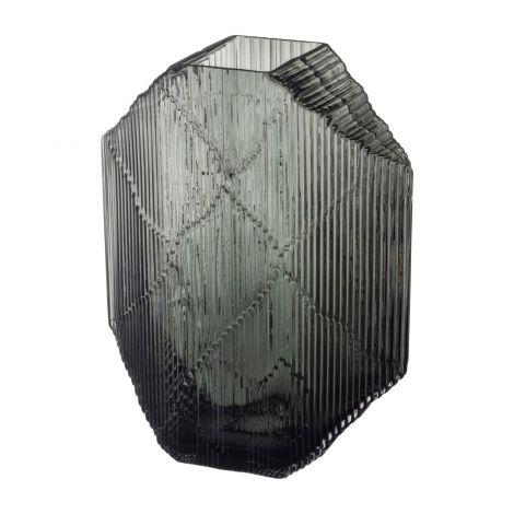 Iittala Kartta glasskulptur 240x335 Mørk Grå