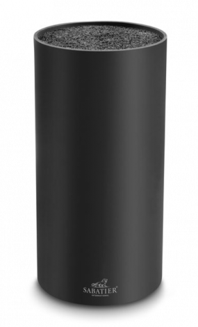 Lion Sabatier Makka Knivblokk Sort - 22,5 cm