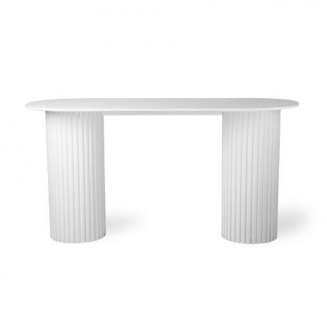 HKliving Pillar Skrivebord Hvit