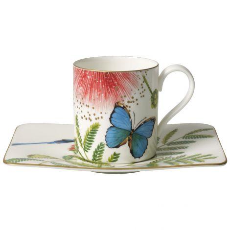 Villeroy & Boch Amazonia Kaffekopp og skål