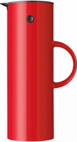 Stelton EM77  Termokanne 1l rød