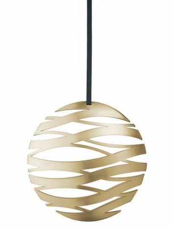 Stelton Tangle Ball stor mässing B: 17 H: 16 cm