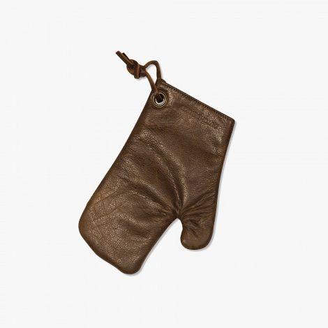 Dutchdeluxes Grillvott Skinn Vintage Brown